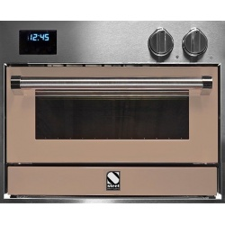 Cuptor electric incorporabil STEEL GENESI, 60x45 cm, 34 lt, 4 fuanctii, cuptor pizza, inox / gri nisip