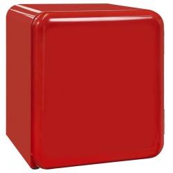 Frighider RETRO tip minibar Exquisit RKB 05-14 A+Rot, Volum 48 L, NoFrost, Rosu