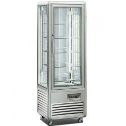Vitrina frigorifica de cofetarie Tecfrigo Snelle 350 Q, capacitate 350 l, temperatura +4/+10°C, argintiu