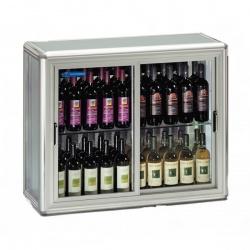 Vitrina de vinuri Tecfrigo SNELLE WINE 200 SG,capacitate 680 l, temperatura +5/+9/+18°C, maro