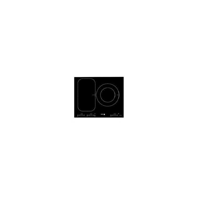 Plita cu inductie Fagor IF-ZONE33AS, 7200 W, 3 zone de gatit, ceramica, negru
