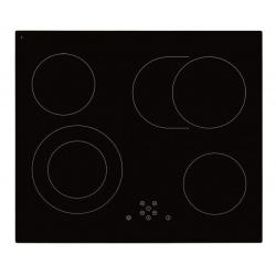 Plita incorporata cu inductie Exquisit EKC 601-5 BZ, 60 cm, 9 niveluri de putere, Sticla neagra