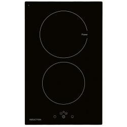 Plita incorporata cu inductie Exquisit EKI 301-5, 30 cm, 9 niveluri de putere, Sticla neagra