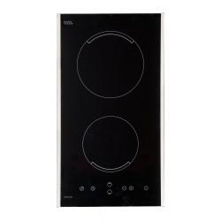 Plita incorporata cu inductie Exquisit EKI-Duo-1 R, 9 niveluri de putere, Sticla neagra