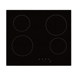 Plita incorporata cu inductie Exquisit EKC 601-5, 60 cm, 9 niveluri de putere, Sticla neagra