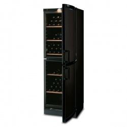 Vitrina de vinuri Tecfrigo VKG 581 Black, 106 sticle, 1 zona temperatura, negru