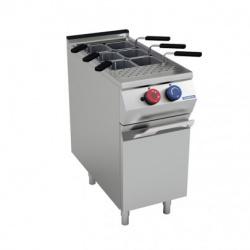 Mașină de gătit electrică 4 plite inducție, dulap deschis, linia 900, EM94PCI