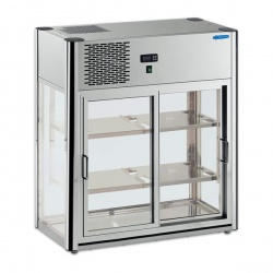 Vitrina frigorifica Tecfrigo LINUS 200, capacitate 200 l, temperatura +4/+10º C, argintiu
