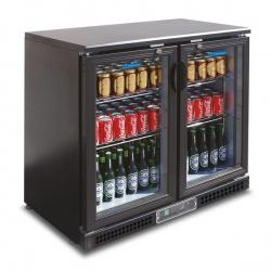 Vitrina frigorifica bauturi Tecfrigo PUB 250, capacitate 254 l, temperatura +2/+8º C, negru