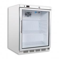 Mini vitrina bauturi frigorifica Tecfrigo ARTICA PL 201 PT, capacitate 129 L, temperatura -2/+8º C, inox
