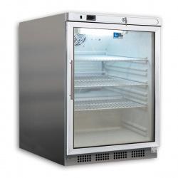 Mini vitrina bauturi Tecfrigo PL 201 PTSX, capacitate 129 L, temperatura -2/+8º C, alb