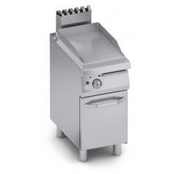 Grill simplu pe gaz , Ata Italia C2GFR05VV , seria 700 cu suprafata striata si suport deschis