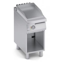 Grill simplu electric , Ata Italia C2EFL05VV, seria 700 cu suprafata neteda si suport deschis