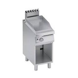 Grill simplu pe gaz , Ata Italia C2GFR05VV , seria 700 cu suprafata striata si suport inchis