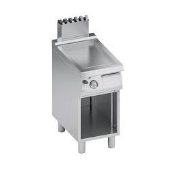 Grill simplu pe gaz , Ata Italia C2GFR05VV , seria 700 cu suprafata neteda si suport inchis