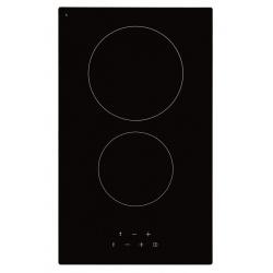 Plita incorporata cu inductie Exquisit EKC 301-5, 30 cm, 9 niveluri de putere, Sticla neagra