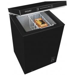 Lada frigorifica Exquisit GT 111-5 A + sw, Clasa A+, 98 L, Negru