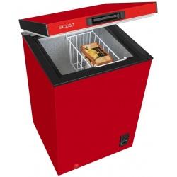 Lada frigorifica Exquisit GT 111-5 A + Roșu, Clasa A+, 98 L, Rosu