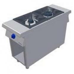 Masina de gatit pe gaz, Primax Italia, MG0400 cu 2 arzatoare si suport deschis