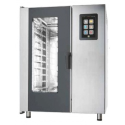Cuptor electric cu convectie Primax Italia, BTE110, pentru gastronomie Nexo, 10 tavi GN 1/1 cu BOILER, touch screen