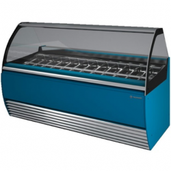 Vitrina frigorifica inghetata Tecfrigo Aurora 18 VC, putere 2080W, temperatura -16/-18ºC