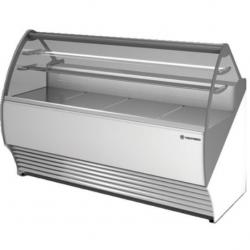 Vitrina frigorifica inghetata Tecfrigo Party 1100 VC, putere 660W, temperatura +4/+10ºC, alb