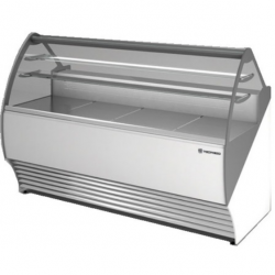 Vitrina frigorifica inghetata Tecfrigo Party 2100 VC, putere 1100W, temperatura +4/+10ºC, alb