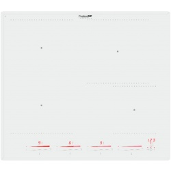 Plita Foster KE INDUCTION 7380 645, 58 cm , 4 zone de gatit, touch control,, sticla alba