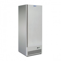 Frigider profesional Tecfrigo CIOCCO 630, capacitate 500 L, temperatura -14/+16 ºC, argintiu