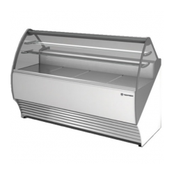 Vitrina frigorifica inghetata Tecfrigo Party 1600 VC, putere 850W, temperatura +4/+10ºC, alb