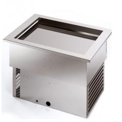 Unitate frigorifica incorporabila Tecfrigo ARMONIA 64/1, putere 310 W, temperatura +4/+10 ºC, argintiu