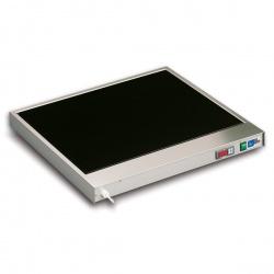 Plita vitroceramica fierbinte Tecfrigo Gastronom GN 1/1 Base, mentine mancarurilor calde, temperatura +30/+90°C, 300W, inox