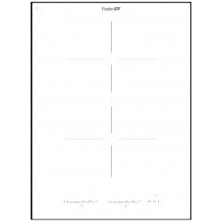 Plita Foster S4000 INDUCTION CON POWER CONTROL 7330 241, 84 cm , 3 zone de gatit, touch control,, sticla neagra