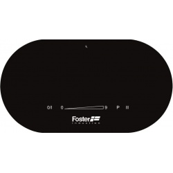 Plita Foster TOUCH CONTROL MODULAR INDUCTION 7368 020, 27.5 cm , 2 zone de gatit, touch control, sticla neagra