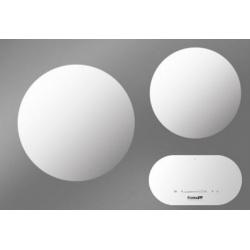 Plita Foster MODULAR INDUCTION 7366 025, 27 / 35cm , 2 zone de gatit, touch control, sticla alba