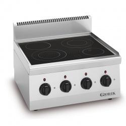 Masina de gatit electrica, Giorik, LPV6741 GIO 60 , cu 4 arzatoare ceramice