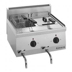 Friuteuza electrica, Giorik, LFE6750, GIO 60, 2 cuve, 6 litri +6 L