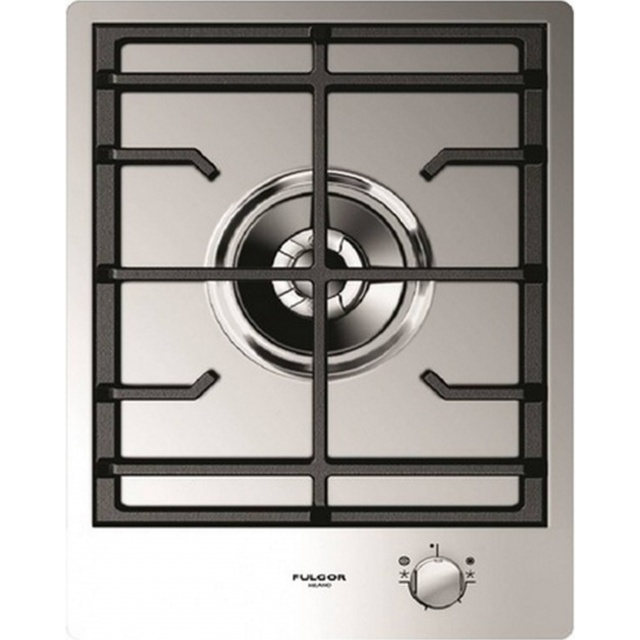 Plita incorporabila Fulgor Milano, CPH 401 GDWK X, 40 cm, plita gaz, 1 arzator, sistem Stop-Gaz, touch control, inox