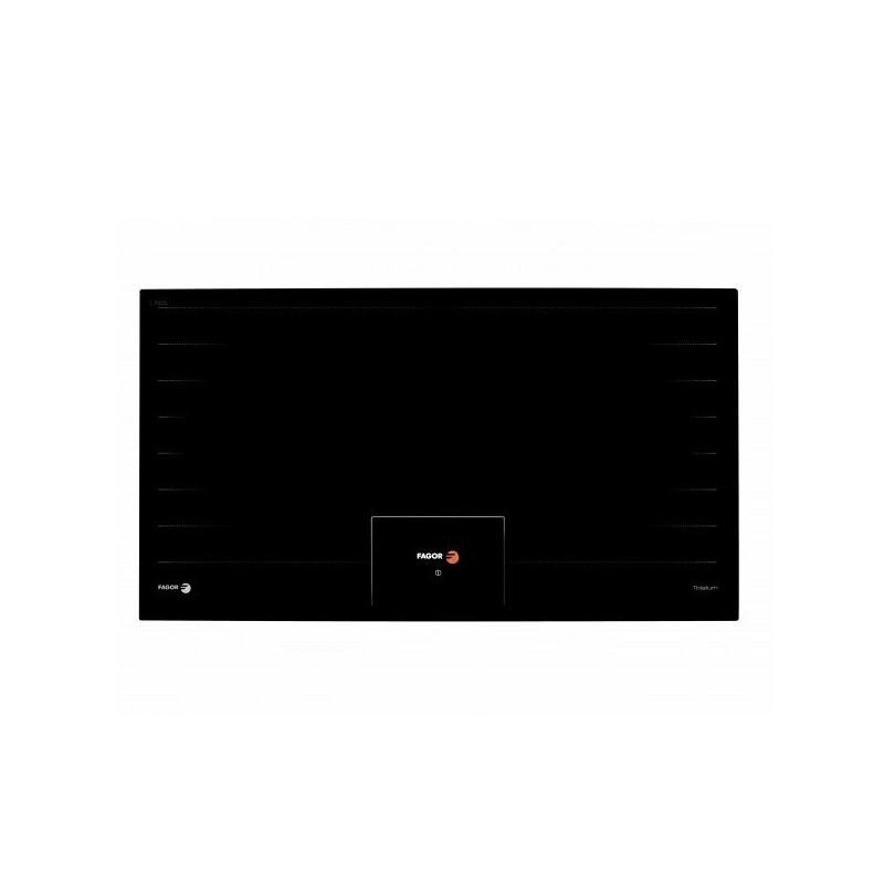 Plită cu inducție Fagor IF-9000S, 1080 W, ceramica, 5 zone de gatit, negru