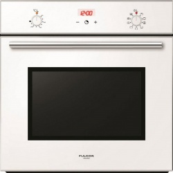 Cuptor incorporabil Fulgor Milano QLO 6009 PT WH, 60 cm, cuptor multifunctional electric, sticla alba