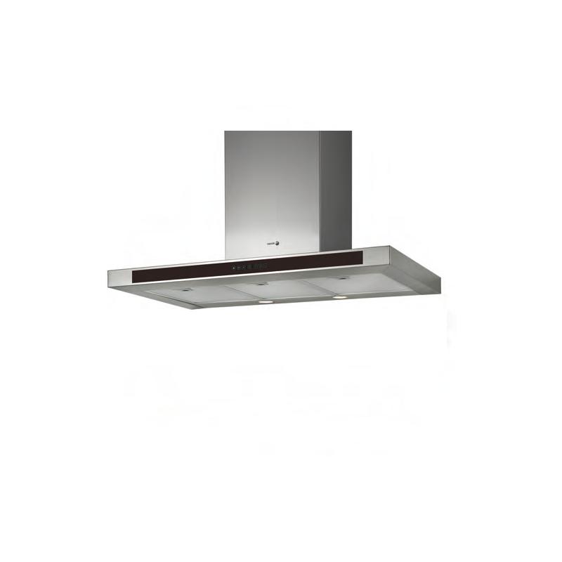 Hota decorativa Fagor CFB-600AXA, 60 cm, 3 trepte de extractie, argintiu