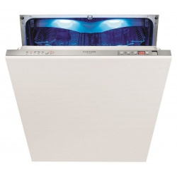 Masina de spalat vase incorporabila Fulgor Milano FDW 9093, 230 kWh/an, 5 setari de temperatura, alb