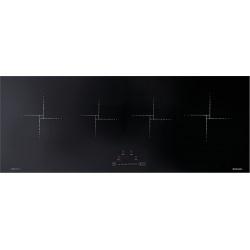 Plita incorporabila Barazza Flat 120 cm, plita inductie, 4 zone gatit, aprindere electronica, sticla neagra