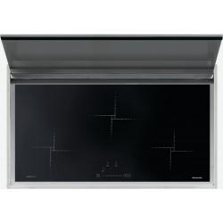 Plita incorporabila Barazza 1PLBC3IDN Lab Cover 90 cm plita inductie 3 arzatoare inox+sticla neagra