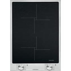 Plita incorporabila Barazza B_Free, 36 cm, plita inductie, 2 zone gatit, aprindere electronica, inox/sticla neagra