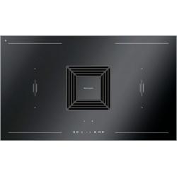 Plita incorporabila Barazza 1PKZ90N, 90 cm, plita inductie, 4 zone gatit, aprindere electronica, inox/sticla neagra