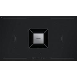 Plita incorporabila Barazza 1PIDZ90I, 90 cm, plita inductie, 4 zone gatit, aprindere electronica, inox/sticla neagra