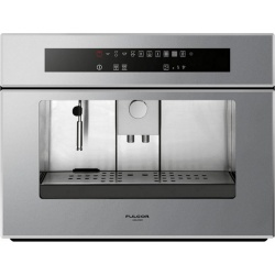 Aparat de cafea încorporat Fulgor LCM 4509 TC ME Special Compact, 60 cm , isticla securizata argintie