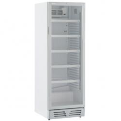 Vitrina frigorifica Klimaitalia Ekofrost EKG 390 V, capacitate 365 l, temperatura 0/+10°C, alb