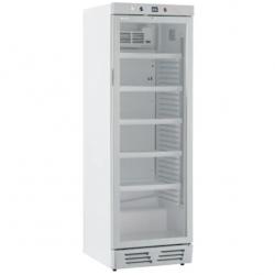Vitrina frigorifica Klimaitalia Ekofrost EKG 390 VG, capacitate 365 l, temperatura 0/+10°C, alb